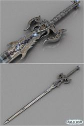 Longsword of the Dark Templar by Soulflame81