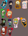 Keychains for Sale 2 by MidnightZone