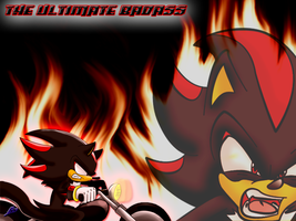 'Ultimate Badass' Wallpaper :0 by Nomad-The-Hedgehog