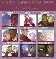 Couple Expressions Meme by Bruh-nie
