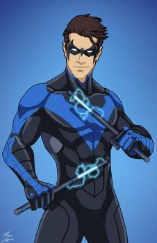 Nightwing (E27 edit) 04 by phil-cho