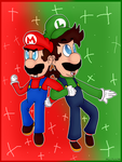 Mario and Luigi - Brothers in Arms by Luigis-Sister18
