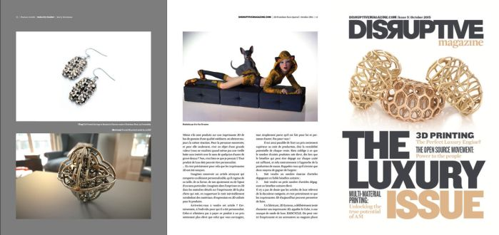 Disruptive Magazine 3D Luxury Issue by nic022