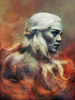 Fire cannot kill a dragon. by charlotvanh
