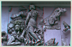 Pergamon Museum Berlin I ::: HDR Anaglyph 3D by zour
