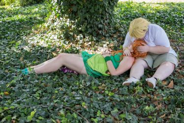 Izzy and Owen - Lazy time by HarunyaanCosplay