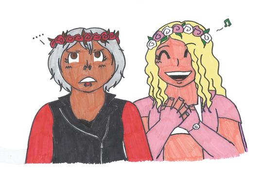 Lockdown Wrestling: Flower Crowns by MissAbigailWyatt