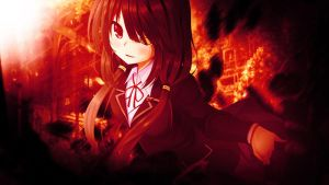 Tokisaki Kurumi The Red Exposure by Alexever17