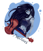 :Adventure Time: Marceline by Kaia-tan