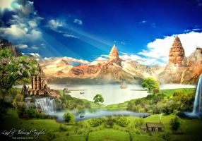 Land of Thousand Temples by Oceandeep76