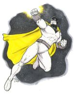 Space Ghost Marker Sketch by IanNichols