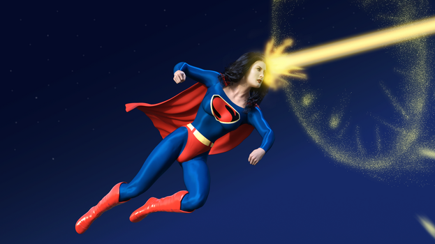 Fleischer Superwoman vs Electrothanasia-Ray by rustedpeaces