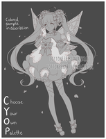 [Closed] Lacey Flowers - CYOP by Cottoneeh