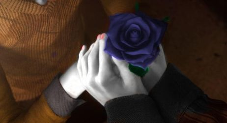 The Blue Rose by SILENT-HILL-SIAM