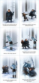 The Adventures of Samwell Tarly by catandcrown