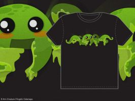 8 Arm Creature T-Shirt Entry by lucero
