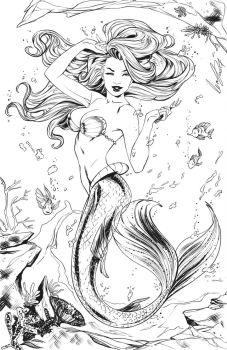 Ariel inks by Elias-Chatzoudis