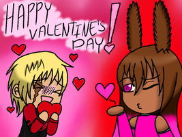 V DAY GamunNoah by forestchick501