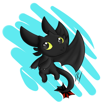 Toothless by kuki4982