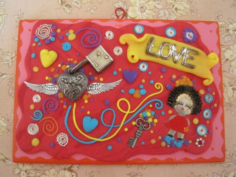 Valentine's Board by Sompy-Stuff