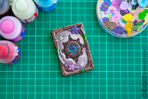 Hearthstone card back - Tinyfin Beach #8 by MonkeysToybox