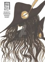 vampire hunter D by mabs rios inktober day 11 by MabsRios