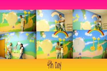 A colorful Wall 4 by Adalu