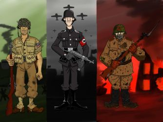 Stereotypical Soldiers Entry. by TheSourKraut