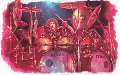 Simon Phillips 1989 by Harnois75