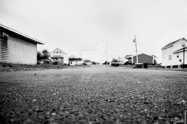 Town (Black and White Version) by neek247
