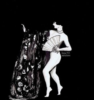 Louise Brooks by Andreth