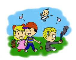 For the Earthbound fans by HaneNoSuzaku