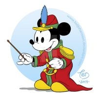 Mickey Mouse - The Band Concert by TedJohansson
