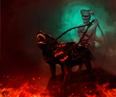 Hell hounds by benchi