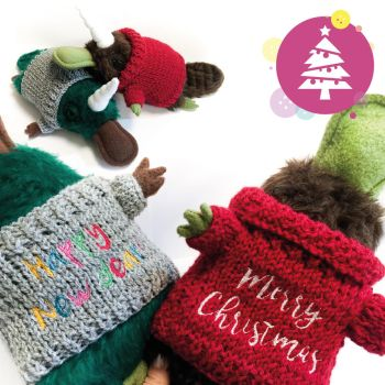 Christmas Giveaway - Platypus Sweaters by Greencherryplum