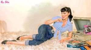 Pin-Up Model by shaliza