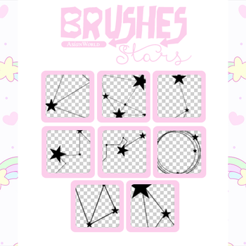 |StarBrushes|Resources by AsianWorld