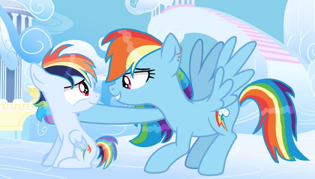 Mlp Next Gen I Love You Rainbow Strike by CreativePony7