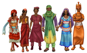 Nigerian Tribes by Ikechi1