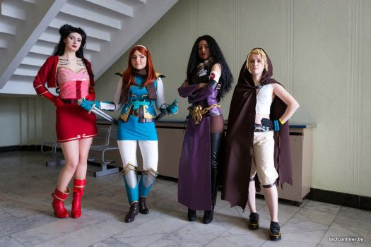 Rat Queens by AppolinaryI