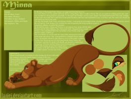 Minna Updated Character Reference by LanieJ
