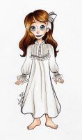 Character Design: Wendy Moira Angela Darling by My-Anne