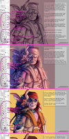 How I paint in SAI by SpacelingArt