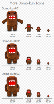 More Domo-kun Icons by vannoy