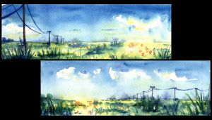 Spring fields by doma22