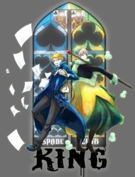 APH: Kings of Spade and Club by waterylt