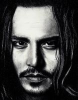 Johnny Depp as self 2 by Doctor-Pencil