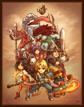 Final Fantasy IX - Tribute EDITED 2016 by Dice9633