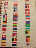 Flags for days! by Apollosmoon