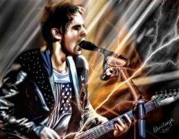 Matt Bellamy Muse by bouboudesign